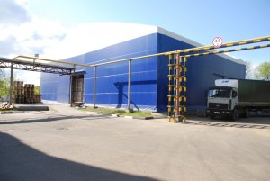 Production (consumer goods packaging) storage hall 30x60x7m, Russia, Moscow